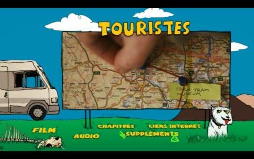Menu DVD Touristes 1