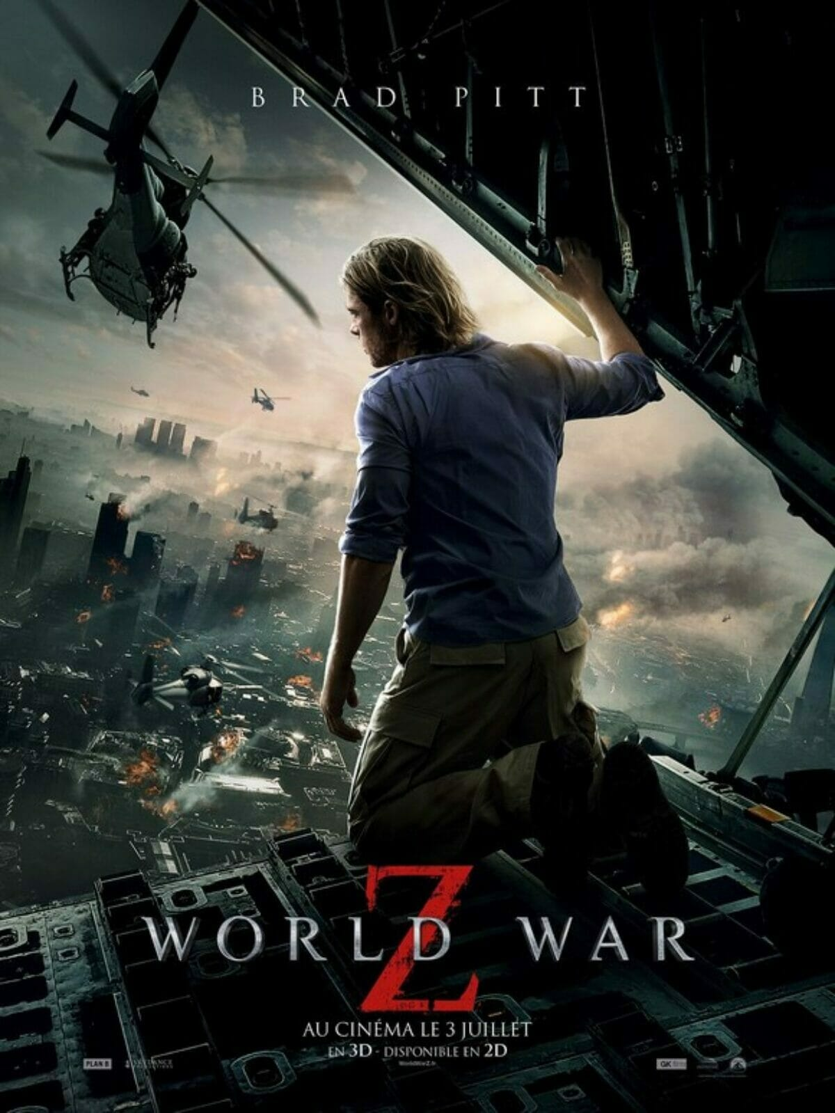 affiche World WarZ France