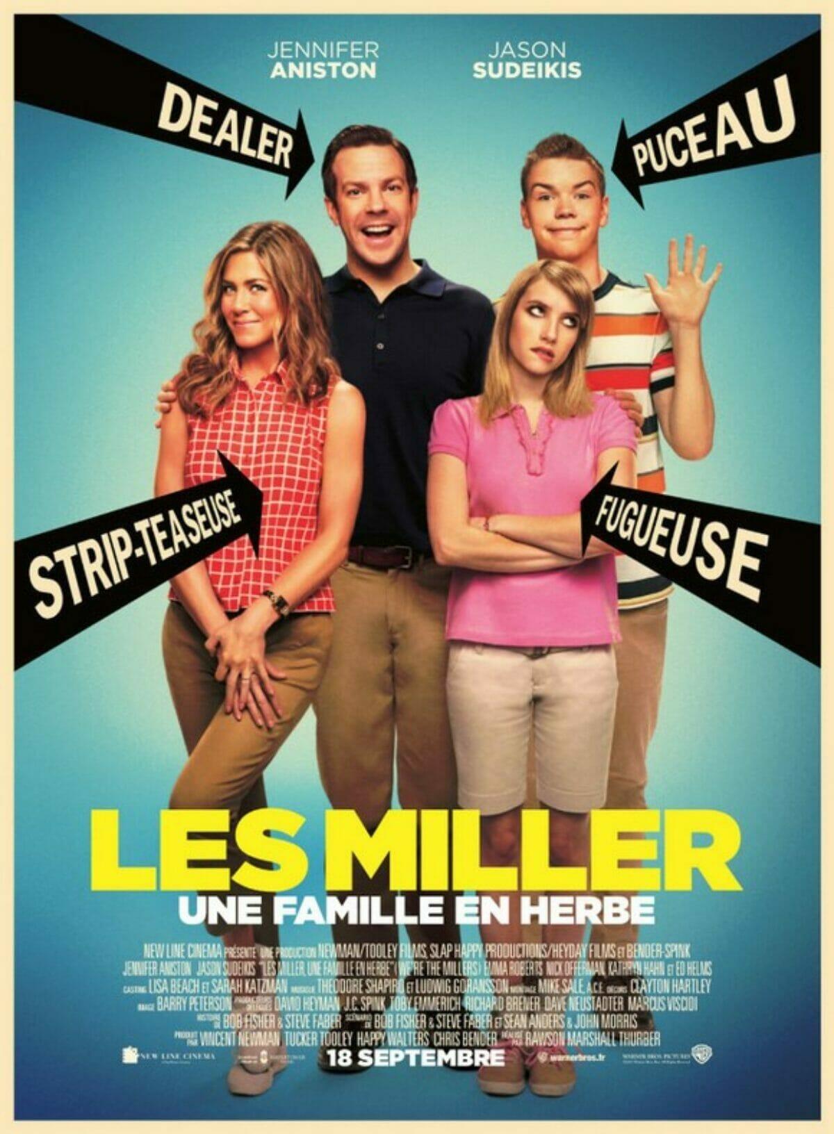 Les-Miller-une-famille-en-herbe-affiche