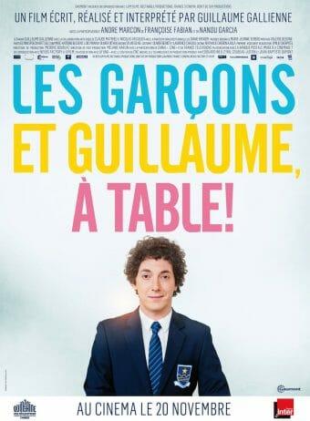 les-garçons-et-guillaume-à-table-affiche