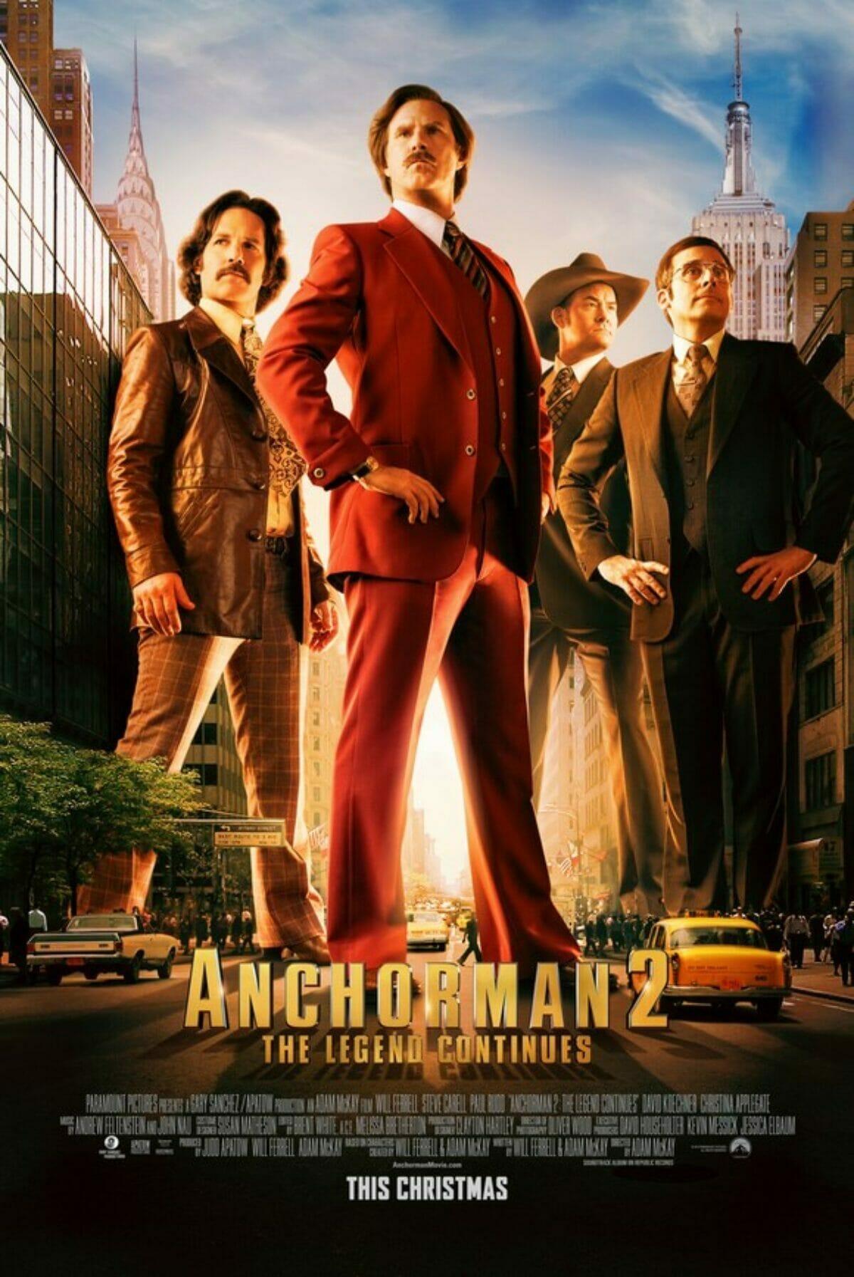 Anchorman-2-Légendes-vivantes-Poster