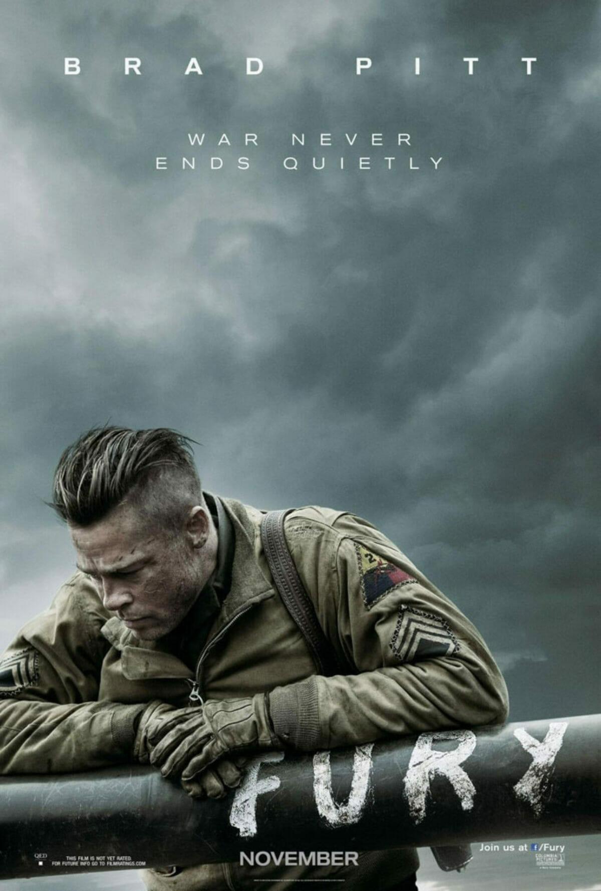 Fury-teaser-poster-brad-pitt