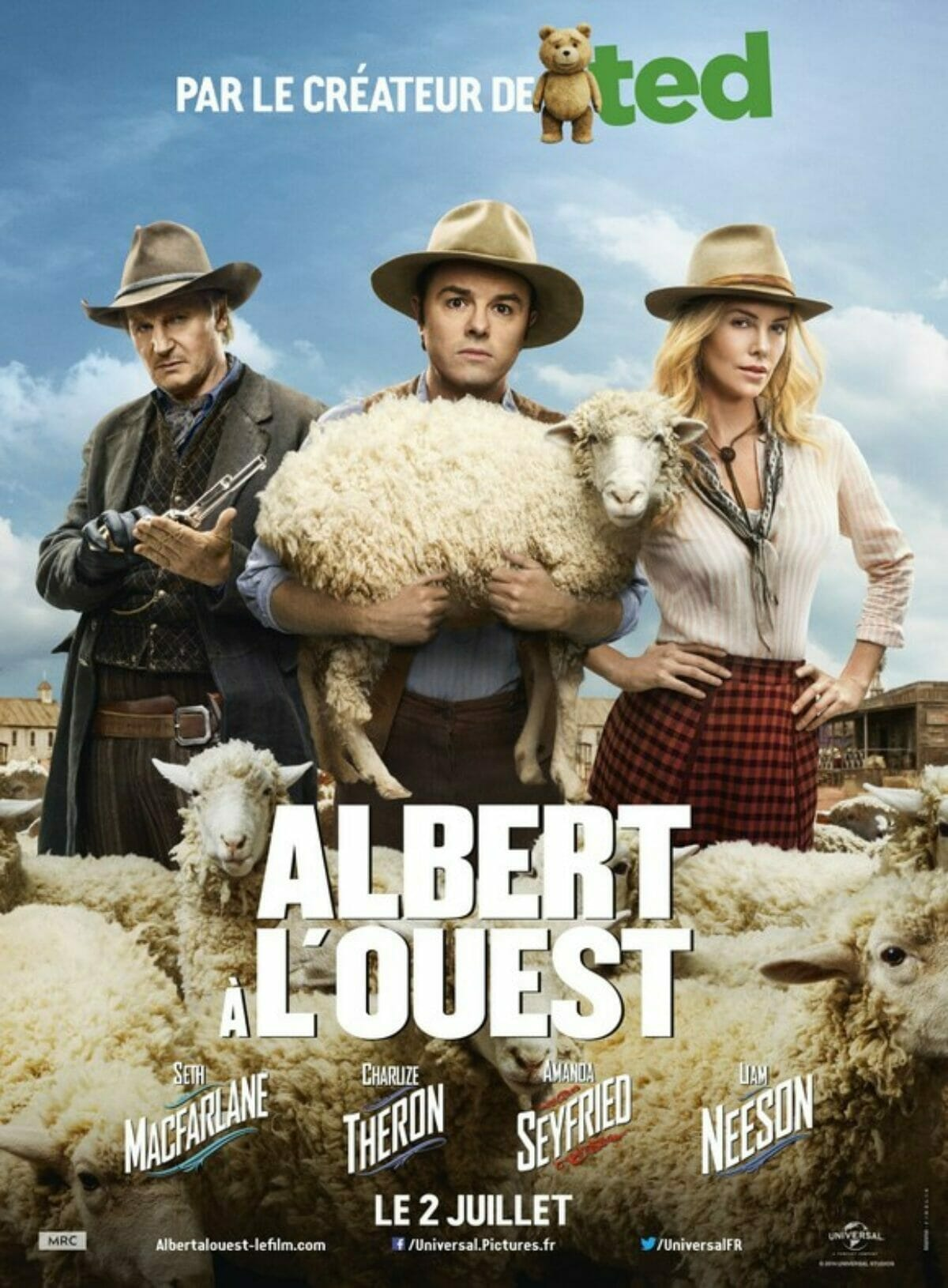 Albert-à-louest-a-million-ways-to-die-in-the-west-poster
