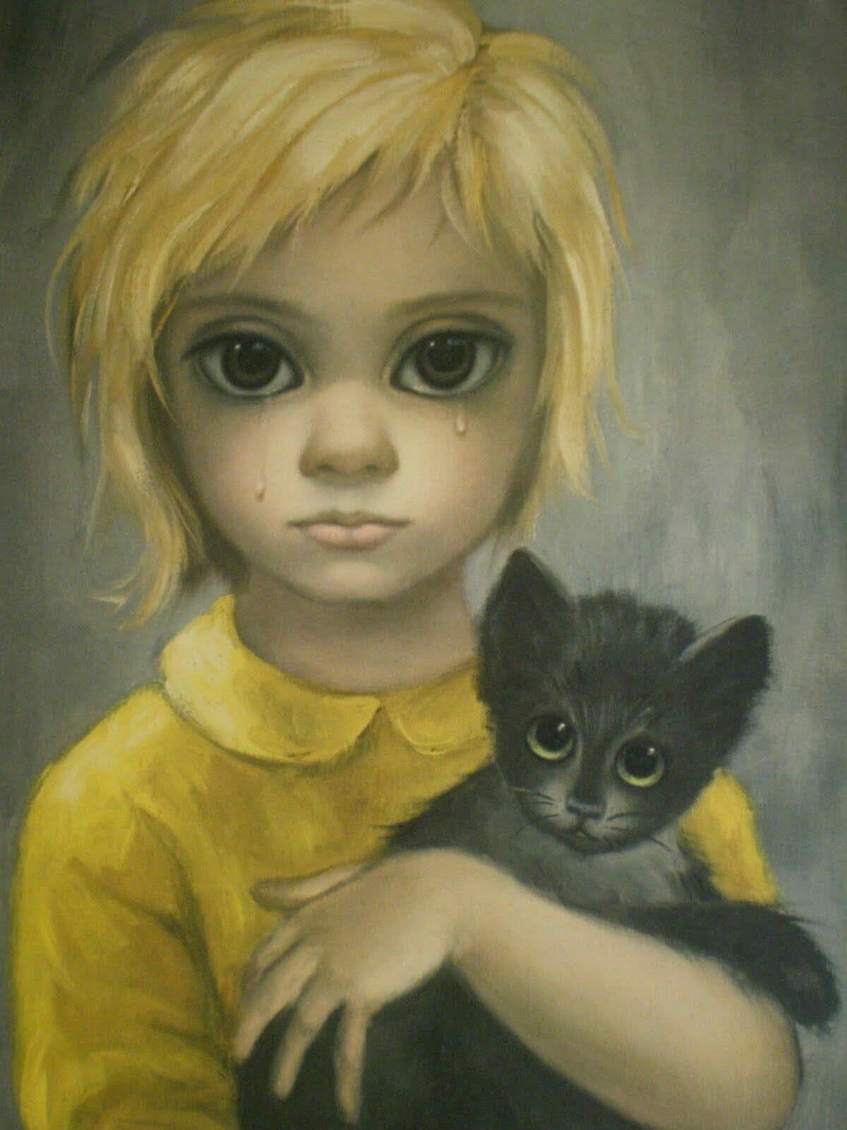 Big eyes Tim Burton
