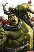 Avengers Comic Con art Hulk