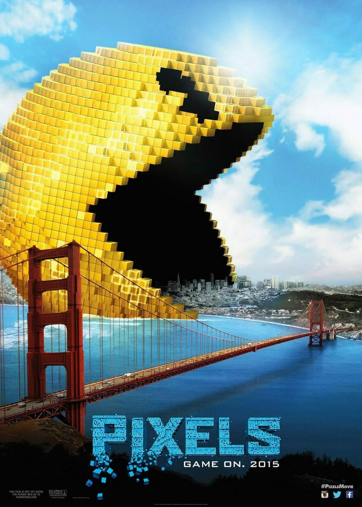 pixels_pacman-poster