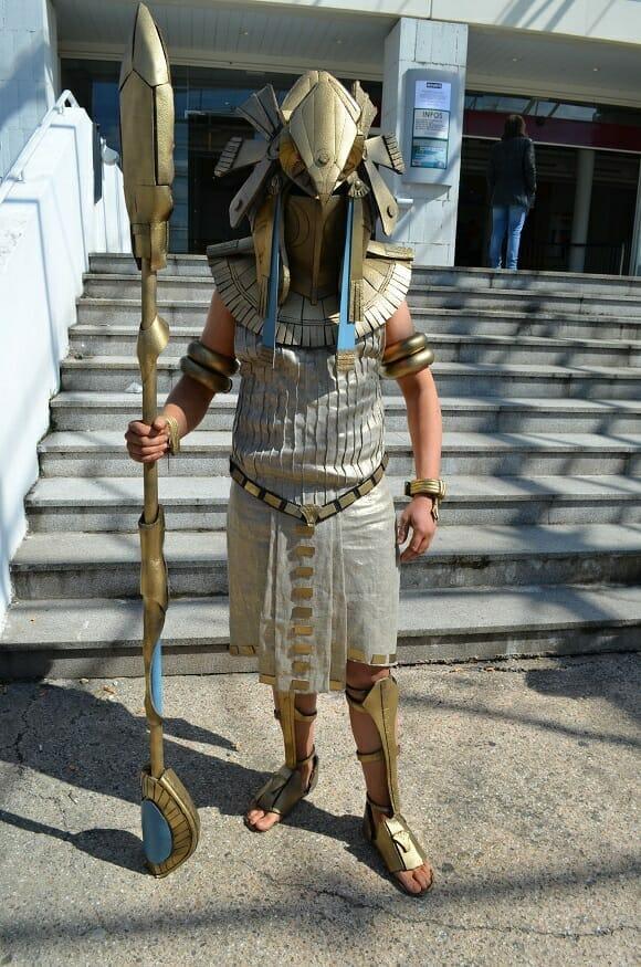 TGS Springbreak Cosplay Horus Stargate par Onizuka Crew