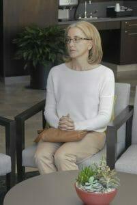 Felicity Huffman dans la première saison d'American Crime