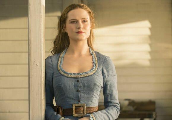 Evan Rachel Wood dans la première saison de Westworld