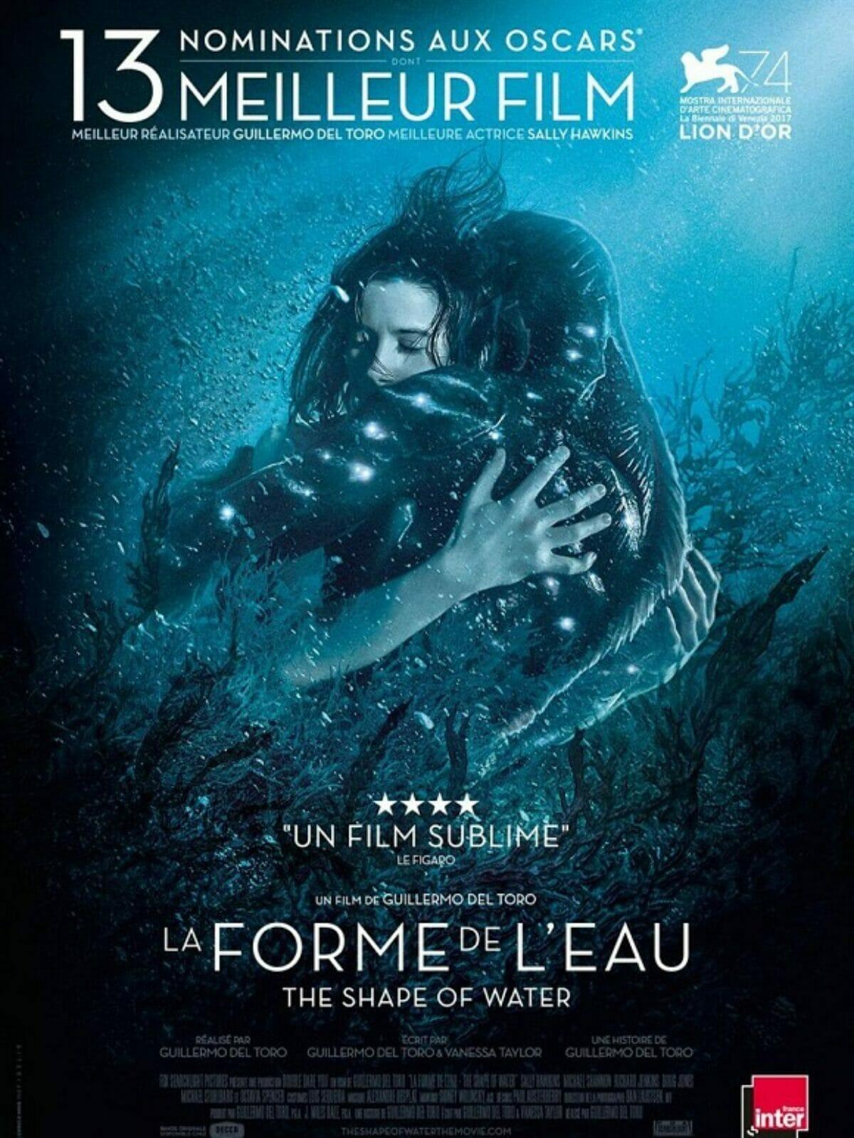 La-forme-de-leau-the-shape-of-water-poster