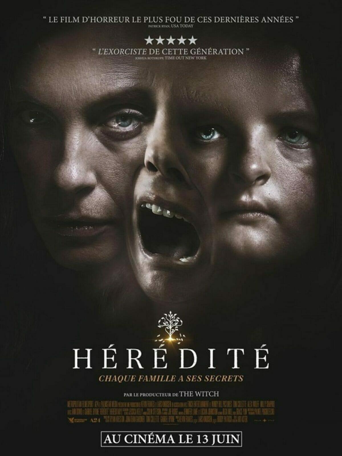 Hérédité poster