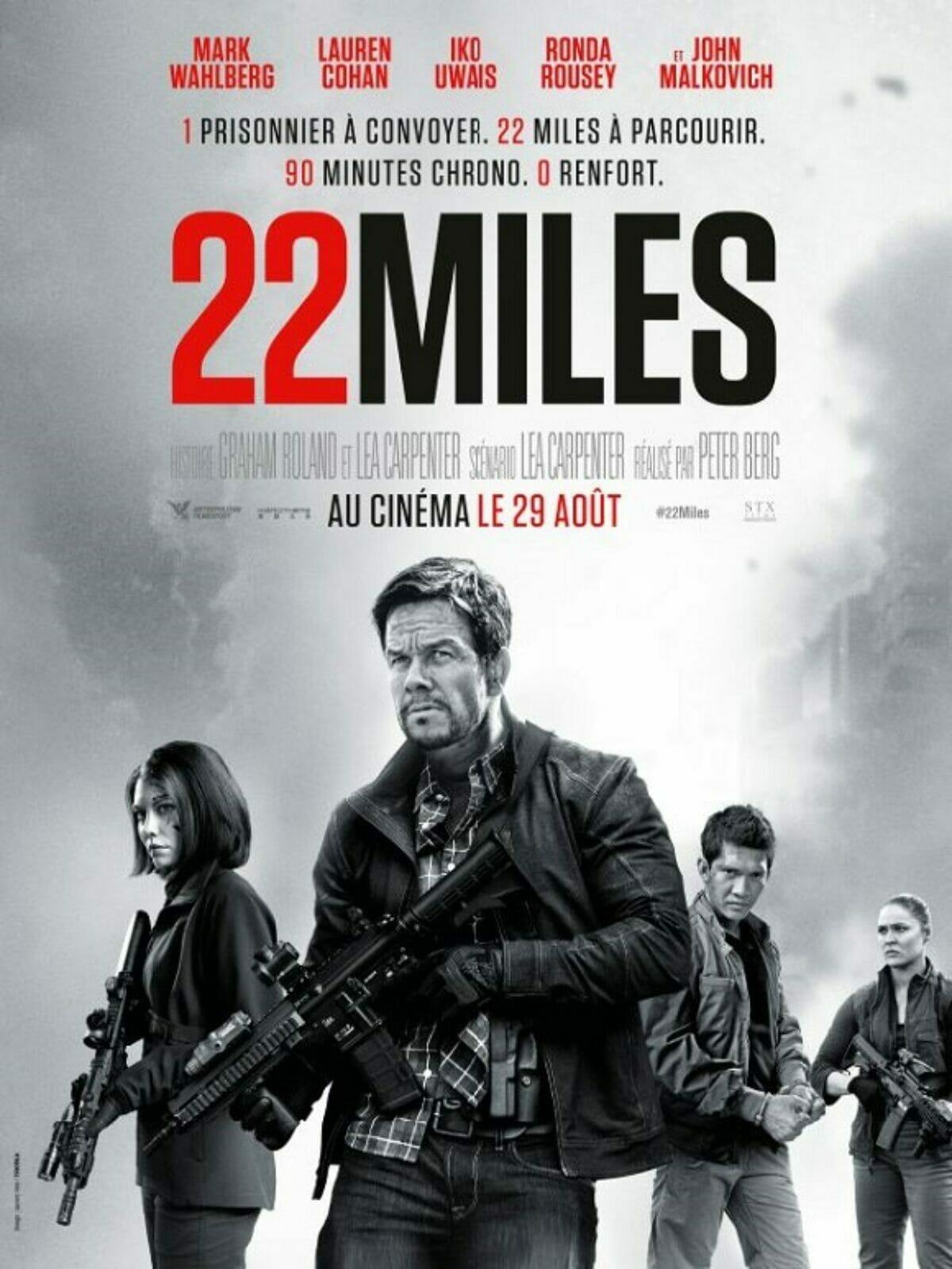 22 miles affiche