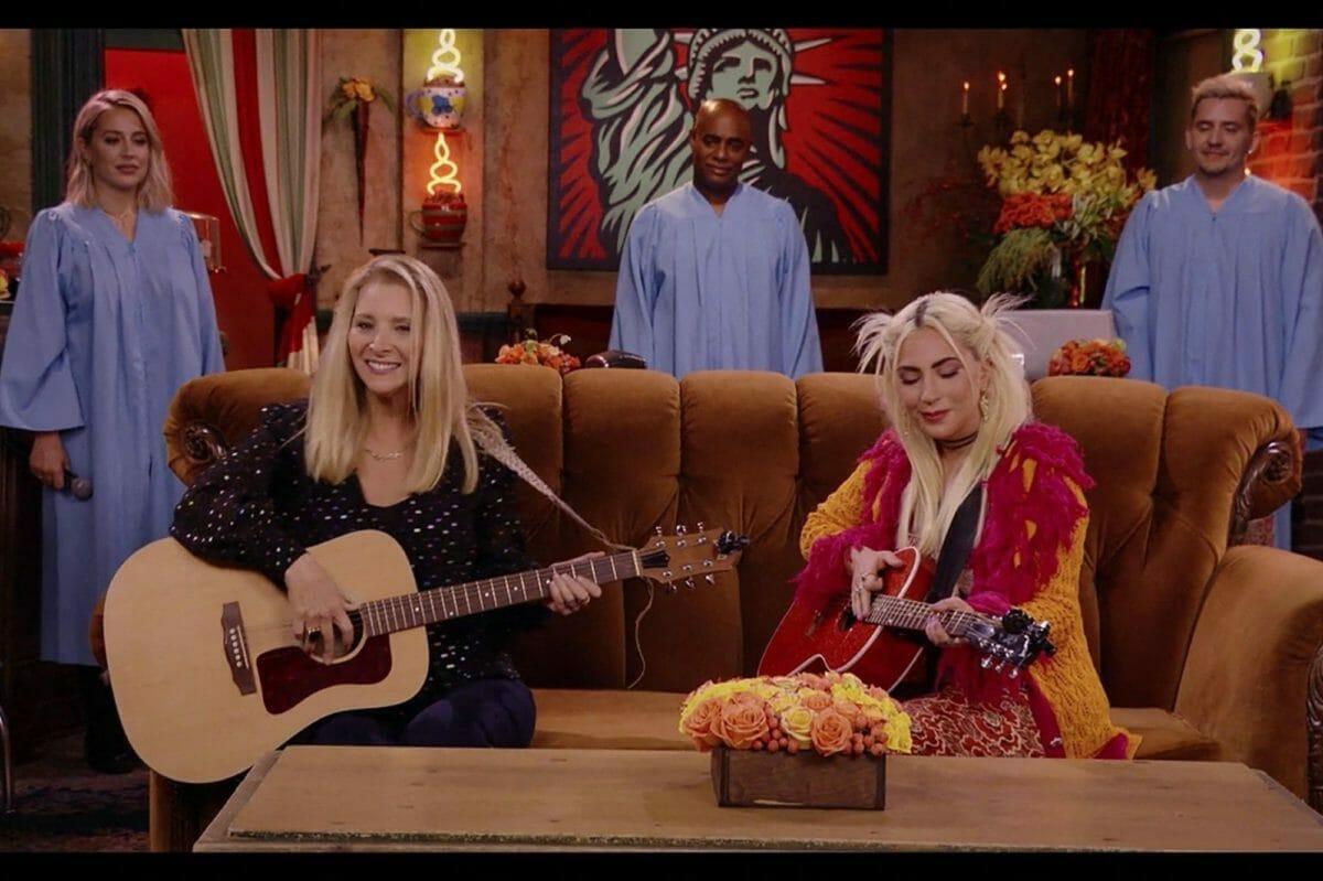 Friends-The-Reunion-Lady-Gaga-Lisa-Kudrow